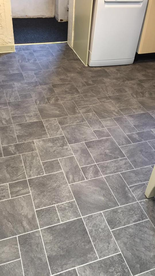 cushion and vinyl flooring  ideal for kitchens  playrooms